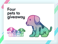 Four Dribbble Invites to Giveaway