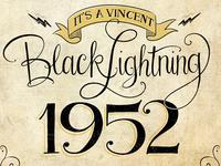Vincent Black Lightning