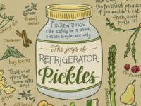 The whole jar o' pickles