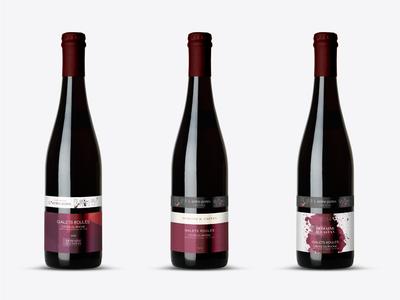Wine label for Domaine Castan