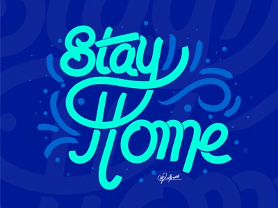 stay home font design graffiti graphicdesign lettering caligraphy typography illustration