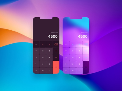Calculator UI productdesign productapp dailyui uichallenge uiinspiration uidesign uiux ui