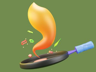 Smoke inktober 3dart 3ddesign blender 3dillustration 3d