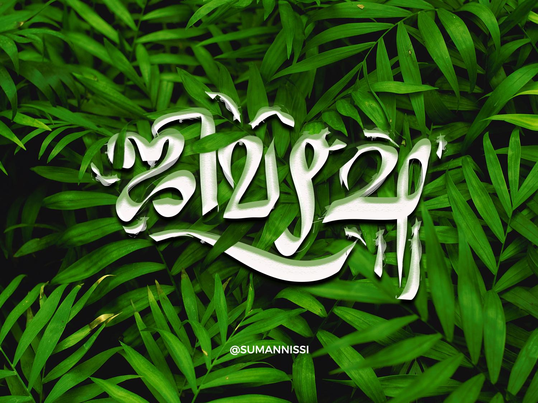 Blending of the two language. handmadefont handlettering font design logotype tamil chennai caligraphy tamilnadu illustration typography tamiltypography malayalamtypography