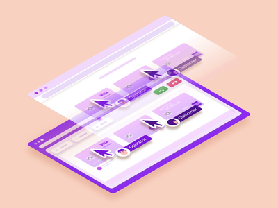 CoBrowsing animation 3d branding ui sketch figma 3d motion design after effects motion graphics estonia animation