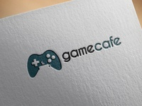 Game Cafe logo concept