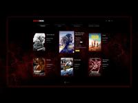 Cinema Kiosk UI design concept