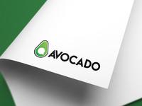 """""""Avocado"""" logo concept for app"""