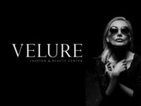 """Velure"" fashion & beauty center, Logo and Branding"