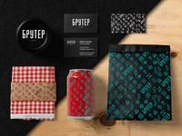 Branding for cafe Bruter