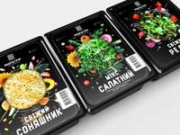 Packaging design for MicroGreen
