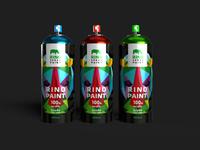 Packaging design for RINO paint