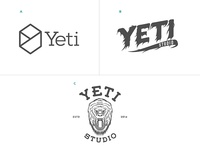 Yeti logo concepts