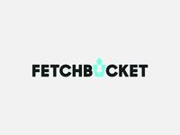 Fetchbucket logo design concept