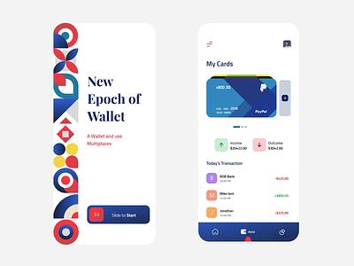 Pattern Wallet App Animation uiux minimal creative pattern wallet motion motiongraphics animation design clean appdesign pattern art pattern design