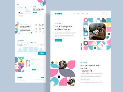 Digital Agency Design (pattern) ui minimal creative web website vector branding design banner website design minimalist