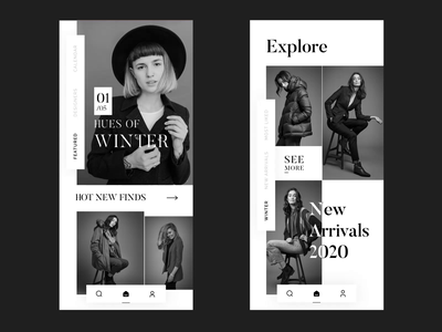 Fashion App Animation fashion brand clean creative minimal ui design animation fashion motion design motion