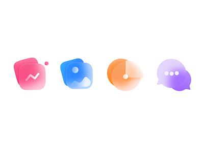 Animated icons animation design branding icons set ui clean icons creative minimal