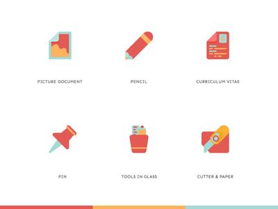 Icon set icon set iphone x minimalist branding vector illustration design creative ui ux minimal icon