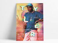 Tyler, the Creator world tour poster concept