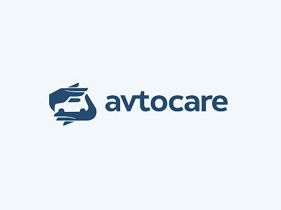 avtocare hand avto auto care id concept car identity logodesign logo