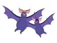 Mum and Daughter Bat