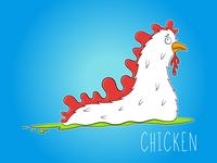 Inktober - Day 5 - Chicken