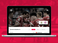 Bayern Munich | Website concept