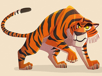 Shere Khan jungle book shere-khan character design animal tiger