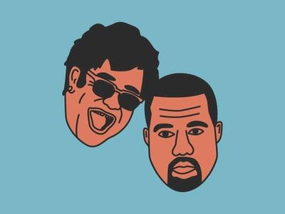 Elton John & Kanye West