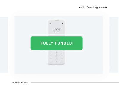 Mudita Kickstarter gifs