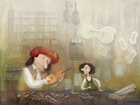The story of Antonio Stradivari for Tétraslire magazine