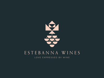 Wine & grapes & not rock n roll wine branding and identity ui illustration typography brand and identity identity logotype branding symbol