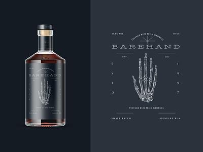 Barehand logo branding and identity illustration vintage packaging typography brand and identity identity logotype branding symbol