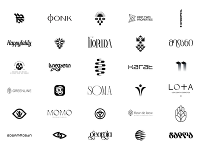 Logos - Marks - Wordmarks logo branding and identity ui illustration vintage typography brand and identity identity logotype branding symbol