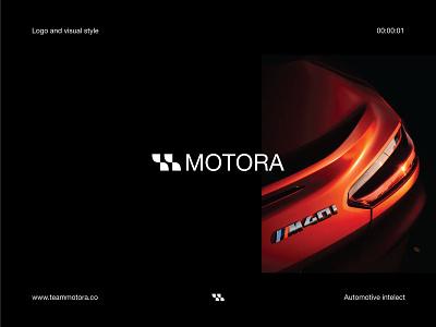 Motora - Automotive intelect ux ui brand and identity identity logotype branding symbol blog vehicle race logo automotive logo automobile logo car logo