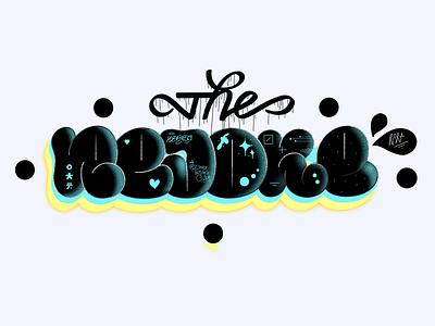 The Rejoke illustration brand and identity identity calligrafiti logotype branding symbol spraypaint letters handstyle graffiti graphic design typography lettering