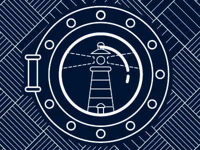 Lighthouse lighthouse vector illustration