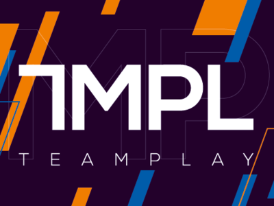 Teamplay entertainment brand vector esports logo