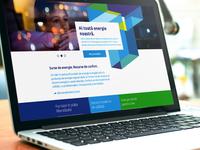 Energy Provider Homepage