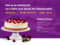 Cheesecake Shop Website Design