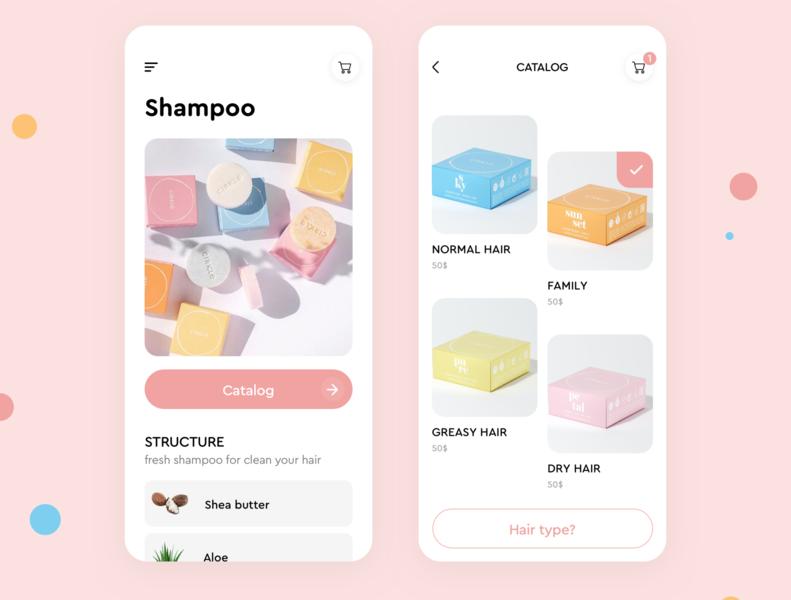 Catalog shampoo