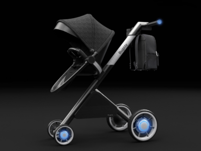 Bugzzz eStroller stroller baby smart parents kids