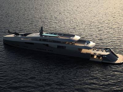 Obsidian 81 sunset obsidian ocean ship yacht