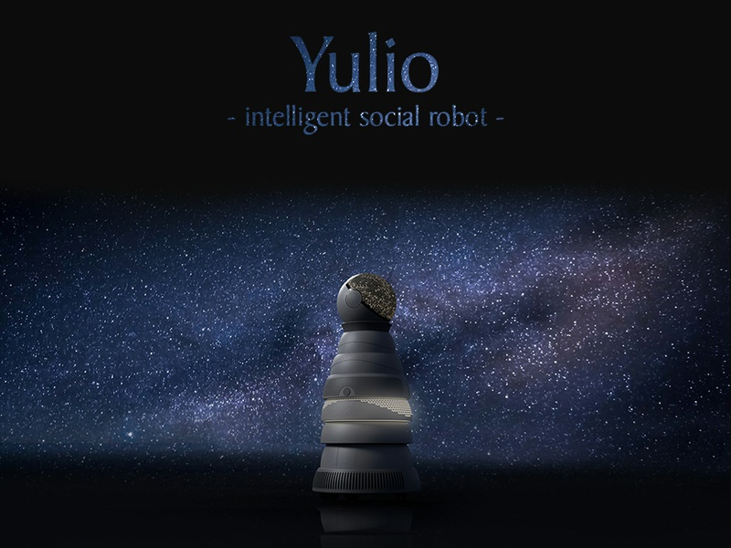 Yulio - intelligent social robot intelligent social space industrialdesign product design design robot