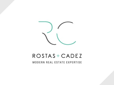 Rostas + Cadez Brand brandidentity branding logo