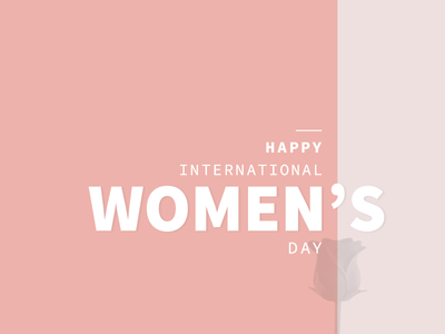 Women's Day typography graphic womensday