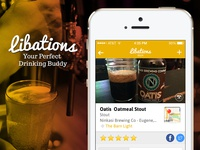 Libations for iPhone