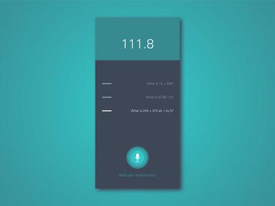 Daily UI 4 – Calculator