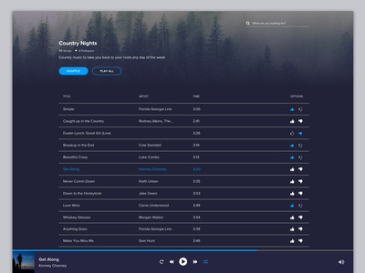 Daily UI 7 – Music Player